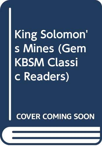 King Solomon's Mines (Gem KBSM Classic Readers) (9676710881) by Haggard, H.Rider