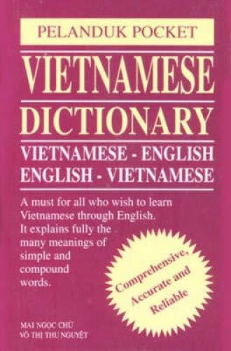 Vietnamese Dictionary: Vietnamese-English and English-Vietnamese (Paperback): Mai Ngoc Chu,