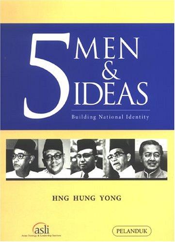 9789679788877: 5 Men & Ideals: Building National Identity