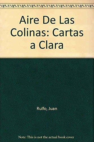 9789681104283: Aire De Las Colinas: Cartas a Clara