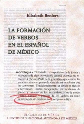 La formación de verbos en el español: Elisabeth, Beniers