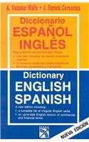 Diccionario Espanol Ingles - Ingles Espanol /: Walls, Alfonso Vasseur;