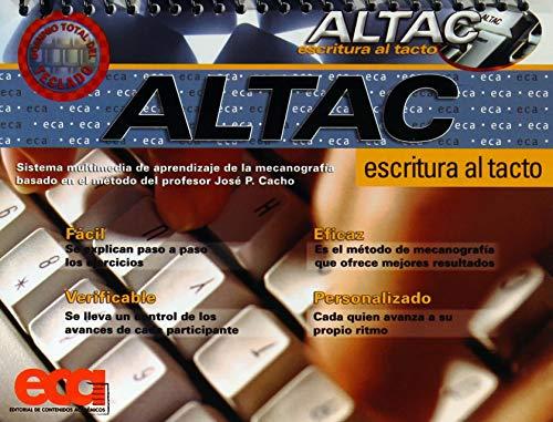 9789681403430: ESCRITURA AL TACTO ALTAC C/CD