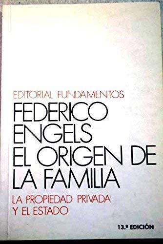 9789681501075: El origen de la familia