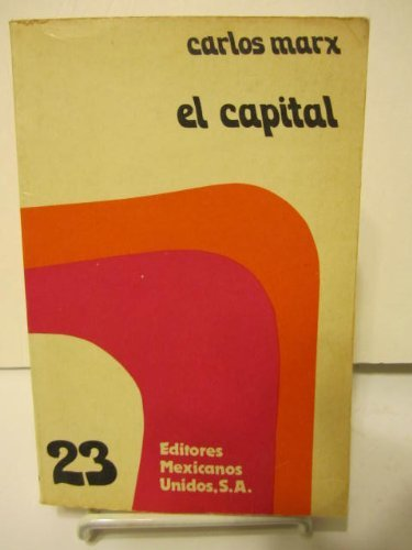 CAPITAL., EL (EDIMUSA): MARX, CARLOS