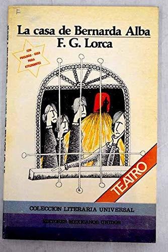 9789681502676: La Casa de Bernarda Alba