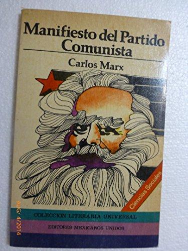 9789681503116: Manifiesto del Partido Comunista (Spanish Edition)