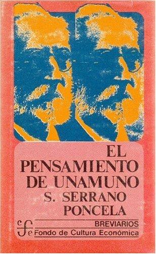 9789681600204: El pensamiento de Unamuno (Breviarios/del Fondo de Cultura Económica)