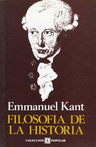 FilosofÃa de la historia (Literatura) (Spanish Edition): Kant Emmanuel
