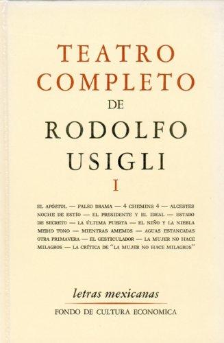 9789681602017: Teatro completo, I (Letras Mexicanas) (Spanish Edition)
