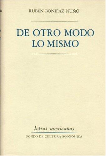 9789681603137: De otro modo lo mismo (Psiquiatria y Psicologa) (Spanish Edition)