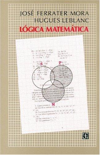9789681604509: Logica matematica (Filosofa)