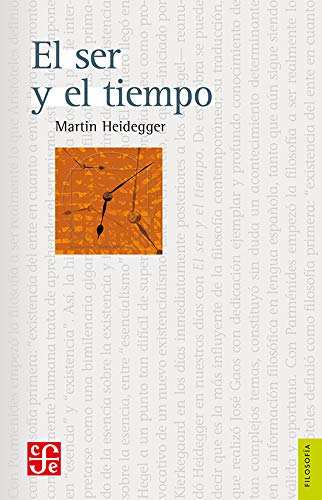 9789681604936: El ser y el tiempo (Spanish Edition)