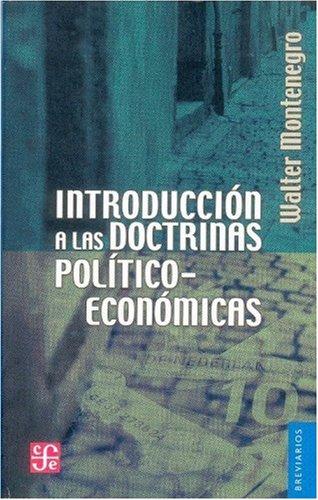 9789681606091: Introducción a las doctrinas político-económicas (Breviarios)