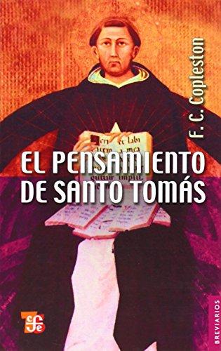 9789681612153: El pensamiento de santo Tomás (Breviarios)
