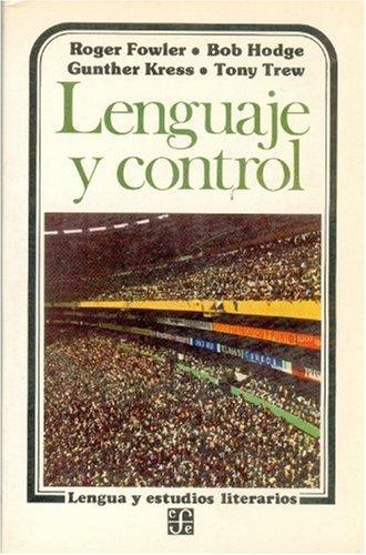 9789681614560: Lenguaje y control