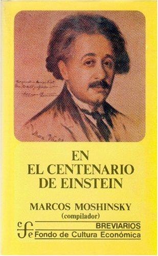 9789681622589: En El Centenario de Einstein
