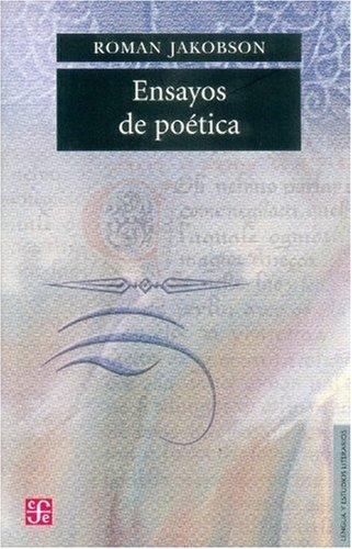 Ensayos de Poética (Seddion De Obras De: Roman, Jakobson