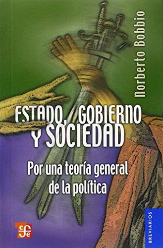 9789681631420: ESTADO, GOBIERNO Y SOCIEDAD (Breviarios)