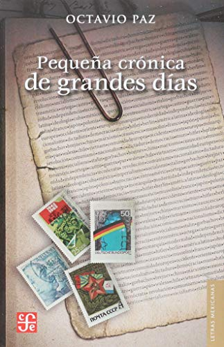 9789681634582: Pequeña crónica de grandes días (Letras mexicanas) (Spanish Edition)