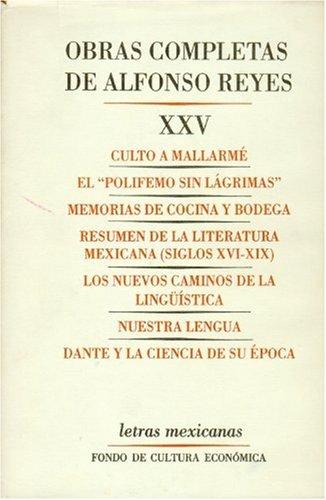 9789681636128: Obras completas vol.25 (Alfonso Reyes)