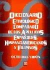 9789681637149: Diccionario Etimologico Comparado de los Apellidos (Spanish Edition)