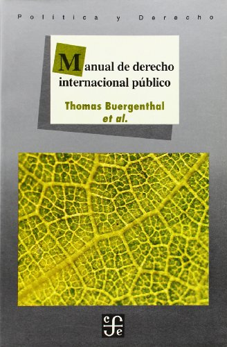 9789681642921: Manual de derecho internacional público (Spanish Edition)