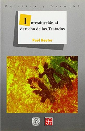 9789681644772: Introduccion al derecho de los tratados