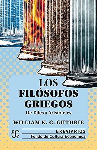 9789681645274: Los filósofos griegos