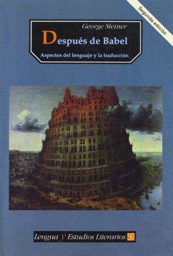 9789681646967: Despues de Babel (Spanish Edition)