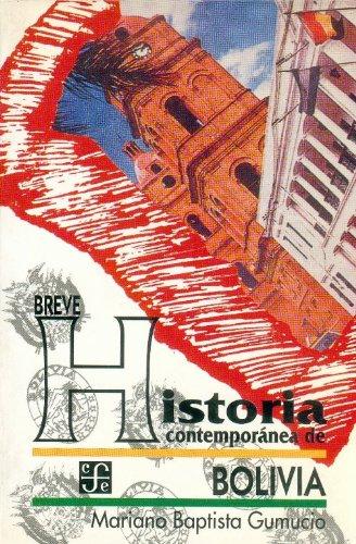 9789681648404: Historia contemporanea de Bolivia