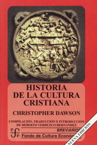 9789681648916: Historia de la cultura cristiana (Spanish Edition)