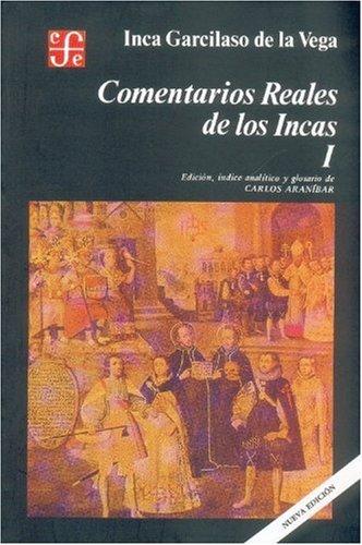 9789681648923: Comentarios reales de los incas, I (Spanish Edition)