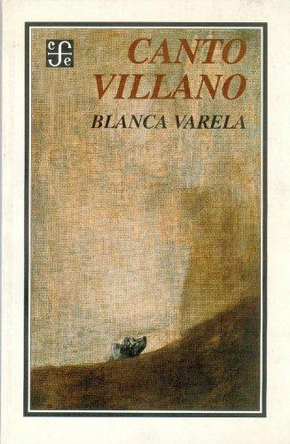 9789681649722: Canto villano (Obra Antropologica)