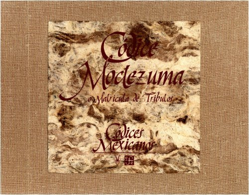 9789681652708: Matricula De Tributos O Codice Moctezuma