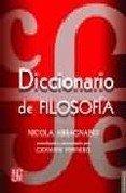 9789681656294: Diccionario De Filosofia (Cartone)