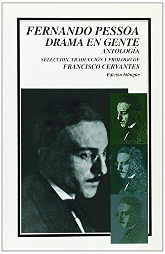 9789681658045: Drama en gente. antologia bilingüe