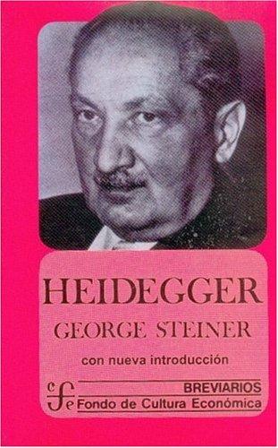 9789681660314: Heidegger (Breviarios) (Spanish Edition)