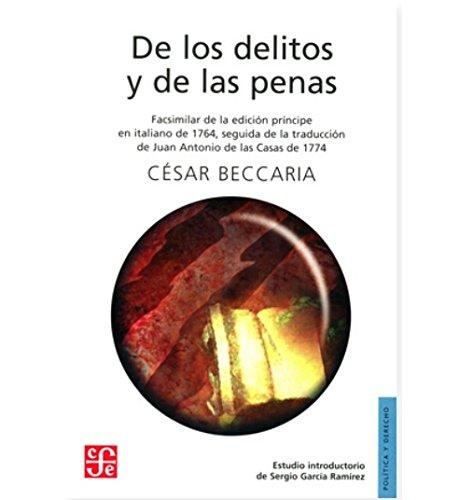 De los delitos y de las penas.: César, Beccaria