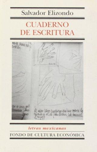 9789681661649: Cuaderno de escritura (Letras Mexicanas) (Spanish Edition)