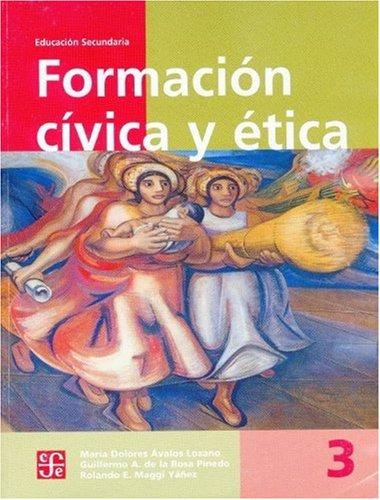 9789681662134: Formación cívica y ética, 3 (Libros de Texto) (Spanish Edition)