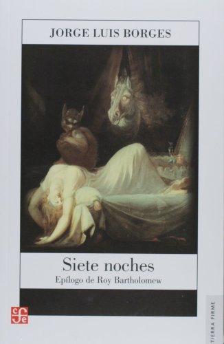 9789681664091: Siete noches (Tierra Firme)