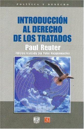 9789681665128: Introduccion al derecho de los tratados/ Introduction to the Right of the Treaty