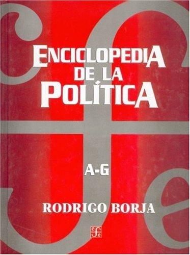 9789681668013: Enciclopedia de la política A - Z (Politica y Derecho) (Spanish Edition)