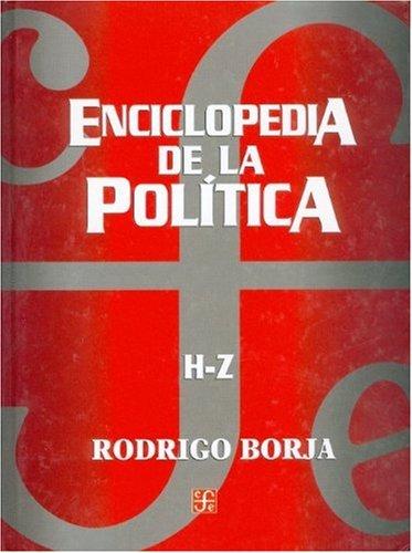Enciclopedia de la política. H - Z: Rodrigo, Borja