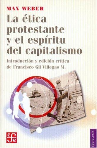 9789681669089: La etica protestante y el espiritudel capitalismo