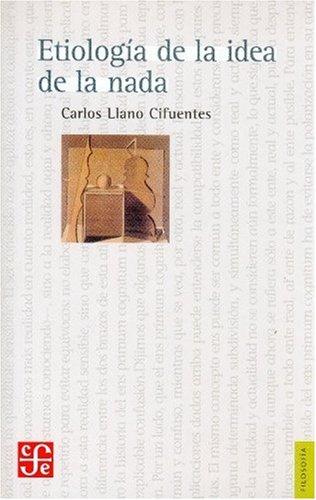 9789681674069: Etiología de la idea de la nada (Spanish Edition)