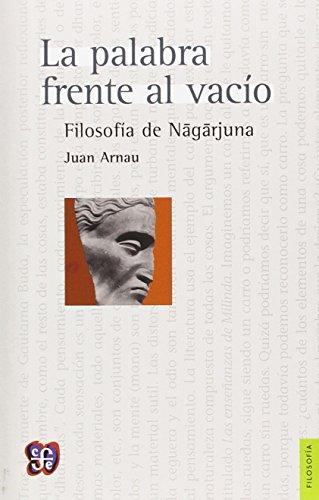 La palabra frente al vacío. Filosofía de: Juan, Arnau Navarro
