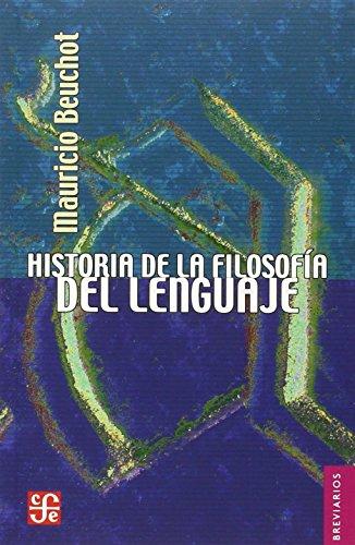 9789681675226: Historia de la filosofia del lenguaje (Breviarios)