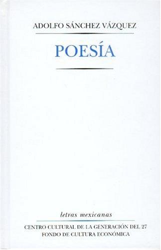 9789681677077: Poesía (Letras Mexicanas) (Spanish Edition)